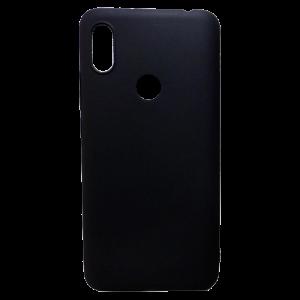Θήκη Σιλικόνης Back Cover για Xiaomi Redmi Note 7 - Μαύρο