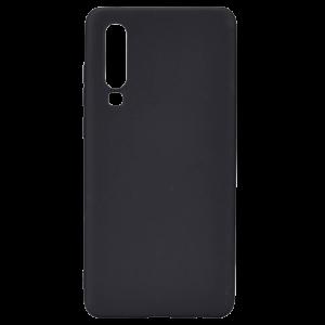 Θήκη Σιλικόνης Back Cover Soft Matt για Huawei P30 - Μαύρο