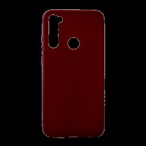 Θήκη Back Cover Matt TPU για Xiaomi Redmi Note 8 - Burgundy