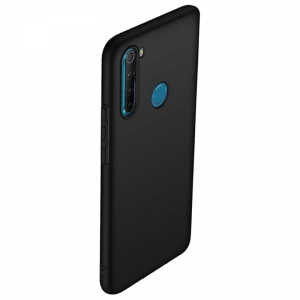 Θήκη Back Cover Matt TPU για Xiaomi Redmi Note 8 - Μαύρο