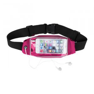 "Sports Waist Case with Window για Smartphones 5.5"" - Θήκη Μέσης με παράθυρο για Smartphones - Ροζ"