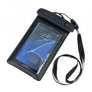 """Αδιάβροχη Θήκη με Tape για Smartphones 4.5""""-5.0"""" (162mm x 100mm) - Μαύρο"""