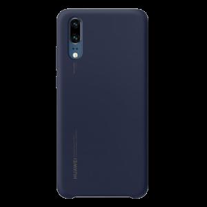 Original Θήκη Huawei Silicone Cover για Huawei P20 - Μπλε