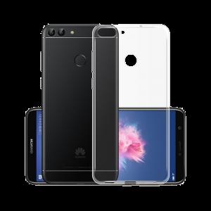 Θήκη Σιλικόνης για Huawei P Smart - Διάφανο