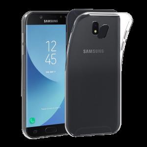 Θήκη Σιλικόνης Ultra Slim 0.5mm για Samsung J7 2017 J730 EU Version - Διάφανο