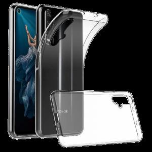Θήκη Σιλικόνης Slim 1 mm για Huawei Nova 5T - Διάφανη
