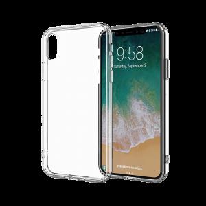Θήκη Σιλικόνης για Apple iPhone X / XS - Διάφανο