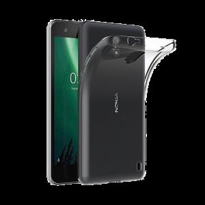Θήκη Σιλικόνης για Nokia 2 - Διάφανο