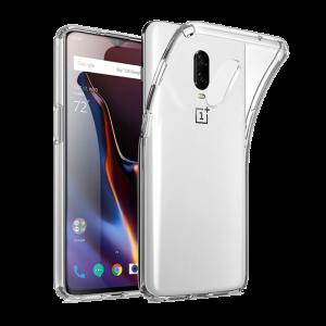 Θήκη Σιλικόνης 0.5mm για OnePlus 6T - Διάφανο