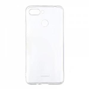 Θήκη Σιλικόνης 0.5mm για Xiaomi Redmi 6 - Διάφανη