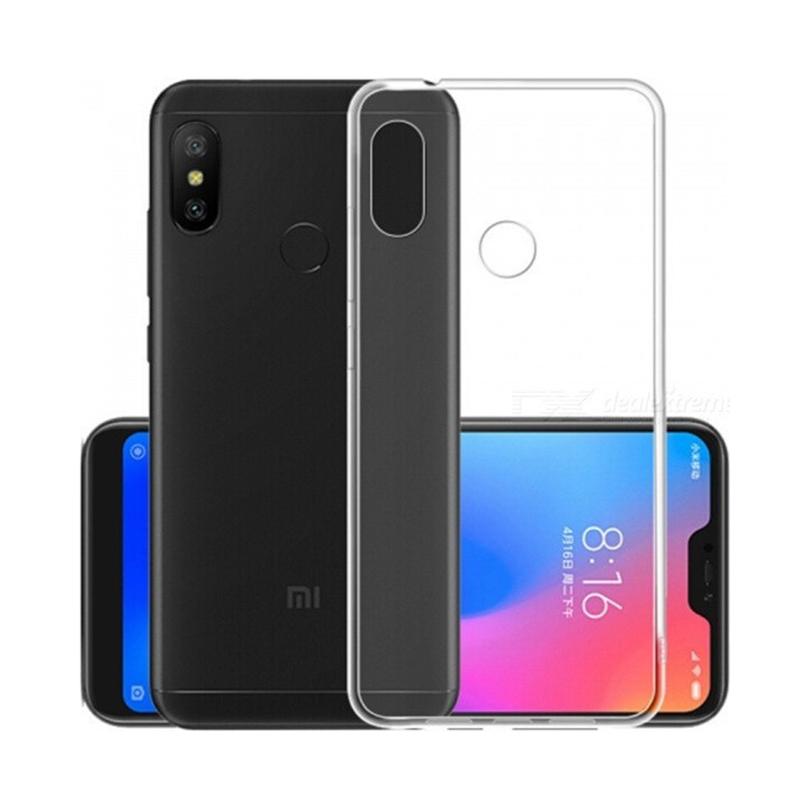 95068c9031 Θήκη Σιλικόνης 0.5mm για Xiaomi Mi A2 Lite - Διάφανο