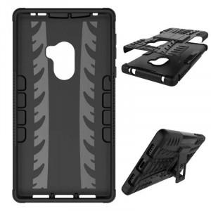Θήκη Heavy Duty Armor Hybrid Stand Rugged για Xiaomi Mi Mix - Μαύρο