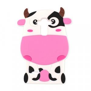 Θήκη 3D Αγελάδα Animal Case για Huawei P10 - Ροζ