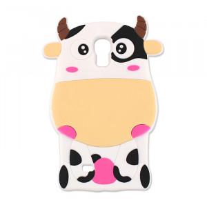 Θήκη 3D Αγελάδα Animal Case για Samsung A3 2017 - Κίτρινο
