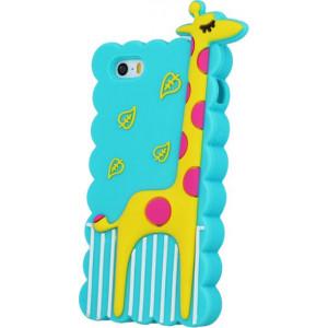 Θήκη 3D Καμηλοπάρδαλη Animal Case για Samsung A3 2017 - Μπλε