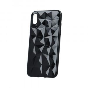 Θήκη Σιλικόνης Back Cover Geometric για Samsung S8 G950 - Μαύρο