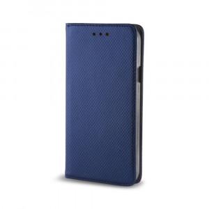 Θήκη Flip με Πορτάκι Smart Magnet για Samsung A6 Plus 2018 - Σκούρο μπλε