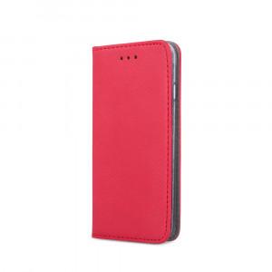 Θήκη Flip με Πορτάκι Smart Magnet για Samsung A40 - Κόκκινο