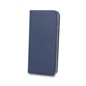 Θήκη Flip με Πορτάκι Smart Magnetic για Samsung A6 Plus 2018 - Σκούρο Μπλε