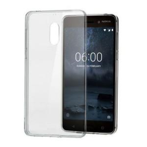 Θήκη Σιλικόνης για Nokia 6 - Διάφανο