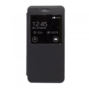Θήκη Flip με Πορτάκι για Xiaomi Redmi 4A - Μαύρη