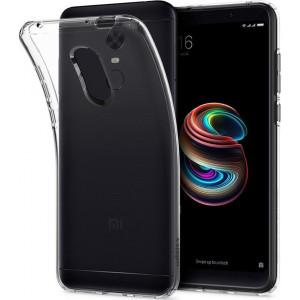 Θήκη Σιλικόνης για Xiaomi Redmi 5 Plus - Διάφανο