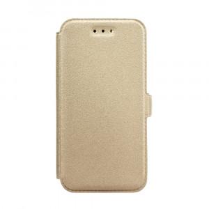 Θήκη Flip με Πορτάκι Book Pocket για Xiaomi Pocophone F1 - Χρυσό