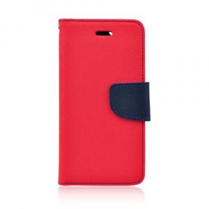 Θήκη Flip με Πορτάκι Fancy Book για Huawei Honor 7A - Κόκκινο / Μπλε
