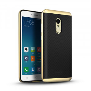 Θήκη iPaky Premium TPU PC για Xiaomi Redmi Note 4 - Μαύρο/Χρυσό