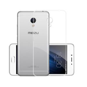 Θήκη Σιλικόνης για Meizu MX 6 - Διάφανη