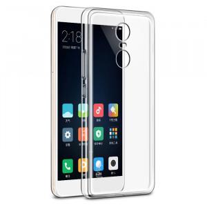 Θήκη Σιλικόνης για Xiaomi Redmi 4 Prime  - Διάφανη