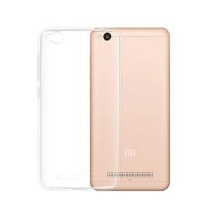 Θήκη Σιλικόνης για Xiaomi Redmi 4A - Διάφανη