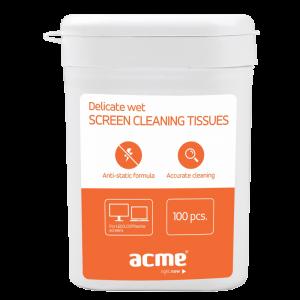 Υγρά Καθαριστικά Μαντηλάκια Acme CL02
