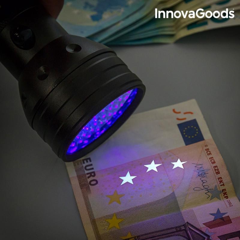 Φακός LED με υπεριώδες φως InnovaGoods