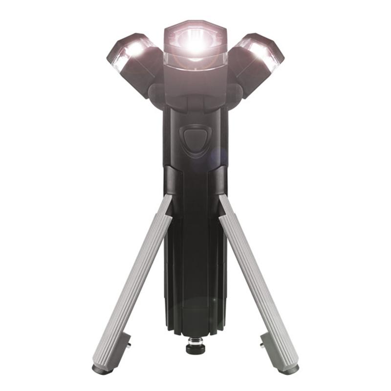 Φακός LED 3 σε 1 με Τρίποδο Partner Adventures Total Torch - Μαύρο