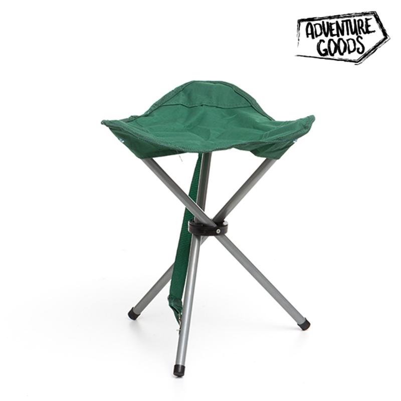 Πτυσσόμενο Σκαμπό Adventure Goods - Πράσινο