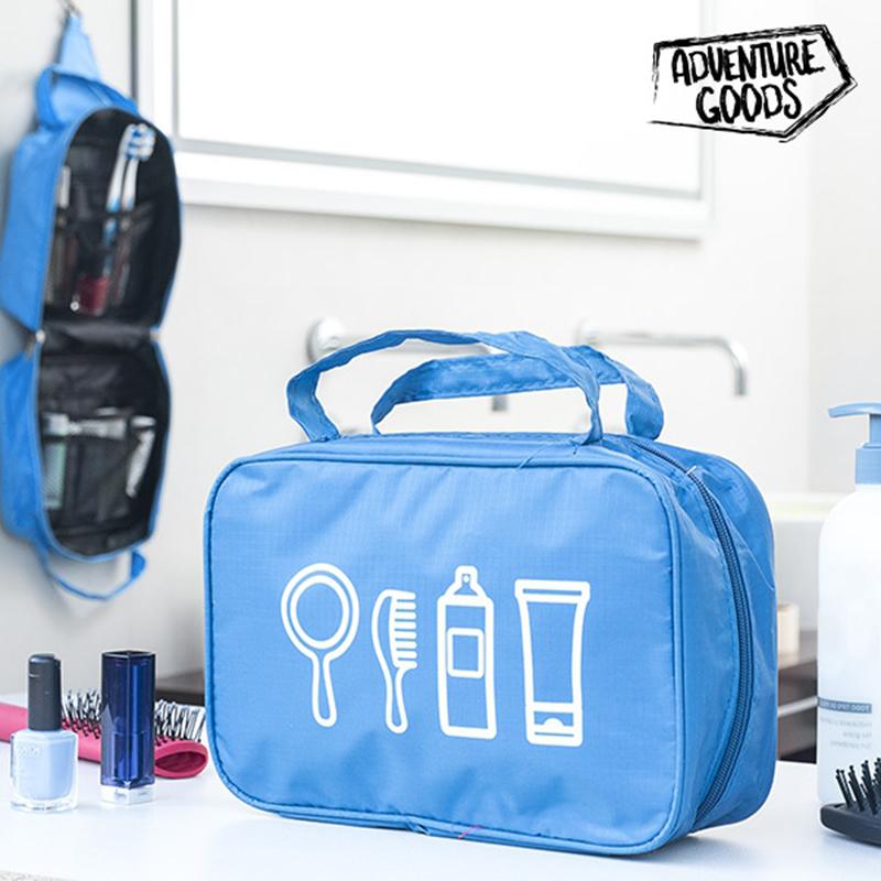 Νεσεσέρ με Κρεμάστρα Adventure Goods - Μπλε