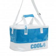 Τσάντα Ψυγείο Adventure Goods 14L - Μπλε / Άσπρο