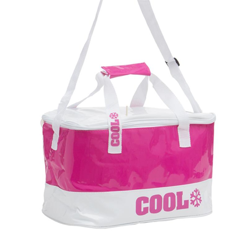 Τσάντα Ψυγείο Adventure Goods 14L - Ροζ / Άσπρο