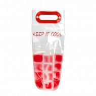 Τσάντα Ψυγείο με Cooling Gel για Μπουκάλια Adventure Goods - Κόκκινο