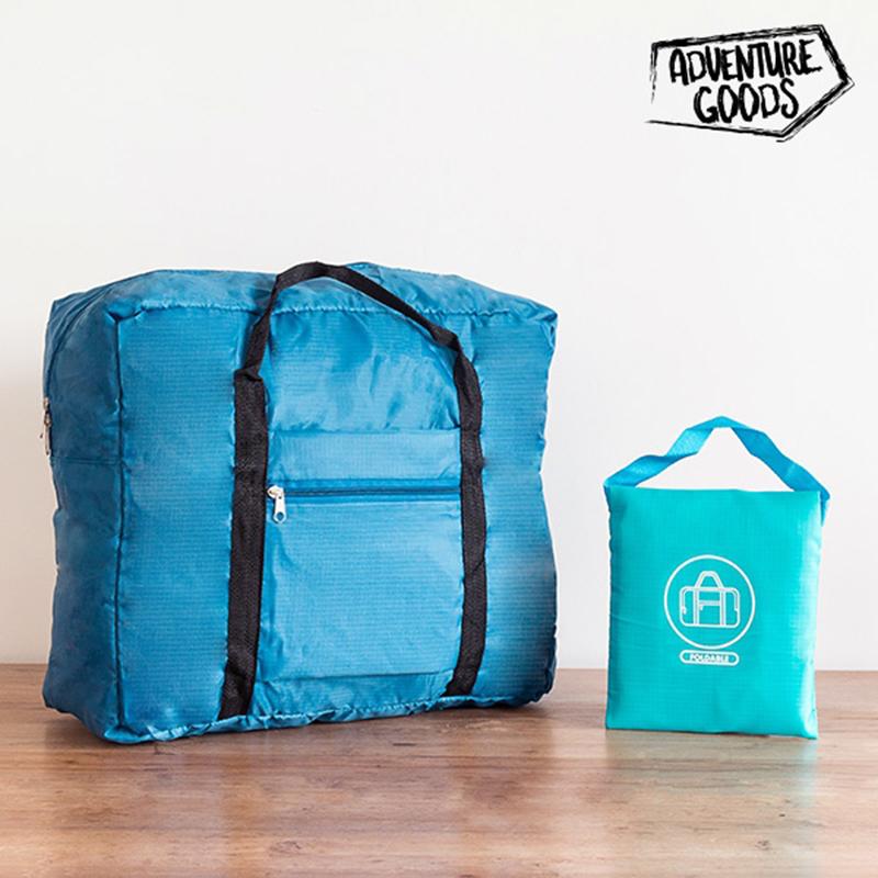 Τσάντα Αναδιπλούμενη Adventure Goods World - Μπλε