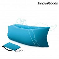 Φουσκωτό Στρώμα και Κάθισμα Ξαπλώστρα Innovagoods - Μπλε