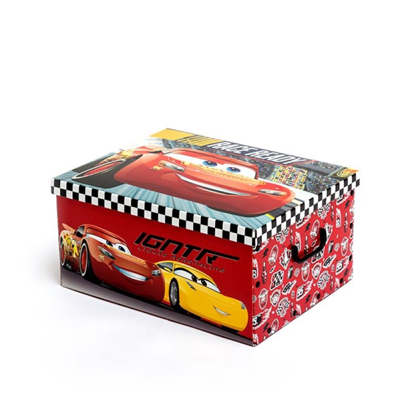 Oργανωτής παιχνιδιών πτυσσόμενος 50 x 39 εκ Cars