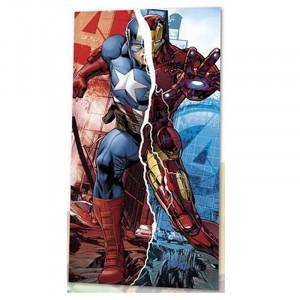 Πετσέτα Θαλάσσης για Παιδιά Kids Licensing Marvel Avengers Captain America Iron Man - 140 x 70 cm