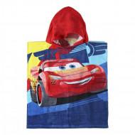 Πετσέτα Θαλάσσης Πόντσο με Κουκούλα για Παιδιά Cerda Disney Cars 3 Κεραυνός Μακουιν - 115 x 50 cm