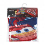 Πετσέτα Θαλάσσης Πόντσο με Κουκούλα για Παιδιά Kids Licensing Disney Cars 3 Κεραυνός Μακουιν - 120 x 60 cm