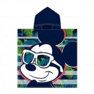 Πετσέτα Θαλάσσης Πόντσο με Κουκούλα για Παιδιά Cerda Disney Mickey Mouse - 115 x 50 cm