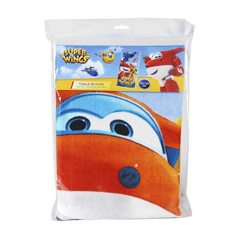 Πετσέτα Θαλάσσης για Παιδιά Cerda Super Wings - 140 x 70 cm