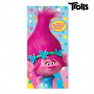 Πετσέτα Θαλάσσης για Παιδιά Cerda Ευχούληδες (Trolls) Poppy - 140 x 70 cm
