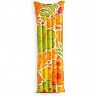 Φουσκωτό Στρώμα INTEX Flower - Πορτοκαλί